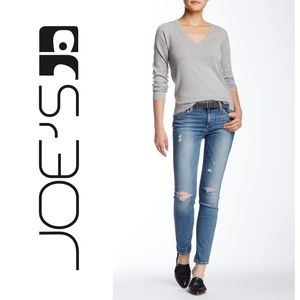 Joes Ripped Crop Skinny Jeans 8421